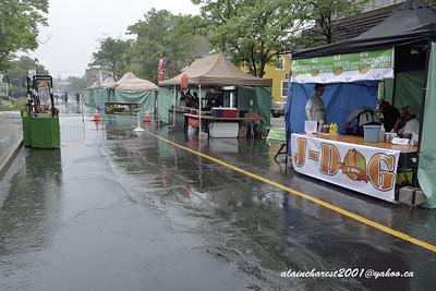 Festival sous la pluie