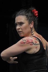 Festival international de percussion de Longueuil ( FIPL ), Longueuil Qc;groupe de flamencodimanche/ Flamenco demonstration on Sunday.