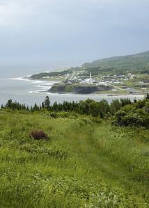 Gaspésie, Qc, Canada: paysage côtier de la côte nord de la Gaspésie / Scenery of north coast of Gaspésie