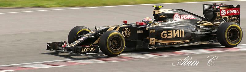 Pastor Maldonado au Grand prix du Canada 2015