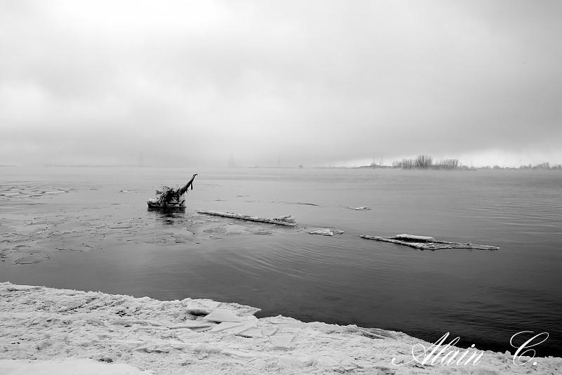 Figée dans la glace