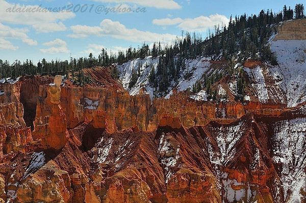 October's snow on Bryce