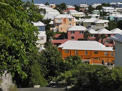 Bermuda; typical bermudian landscape / Paysage bermudien.
